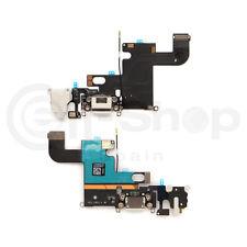 """Cable Flex Jack Audio / Microfono / Conector Dock para iPhone 6 - 4,7"""" Blanco"""