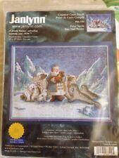 RARE Janlynn 2000 Polar Santa counted cross stitch kit Lynn Bywaters sealed