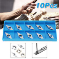10pcs Wood Turning Carbide Inserts for Lathe Tool Holder Indexable Chisel Cutter
