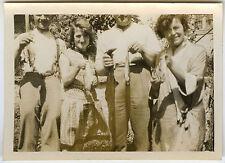 PHOTO ANCIENNE - VINTAGE SNAPSHOT - PÊCHEUR TROPHÉE CURIOSITÉ - FISHING FUNNY