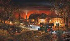 Morning Warm Up a Terry Redlin Limited Edition Print