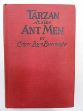 TARZAN AND THE ANT MEN EDGAR RICE BURROUGHS 1924 H/B  GOOD CONDITION