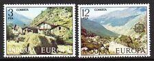Andorre, Spanish - 1977 Europa Cept Mi. 107-08 MNH