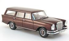 Spark 1966 230 S Universal (W111), Metallic Dark Red 1:43*Nice!