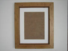 Antique Pine Real Wooden 8x10 Photo  Picture Frame  Mount 5.5x7.5 Hang