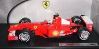 F1 Ferrari F2001 Rubens Barrichello 2001 1:18 Hotwheels / Mattel 50203 NEU & OVP