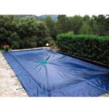 Bache couverture d'hivernage pour piscine enterrée jusqu'à 8x5 m