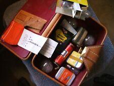 Lot of Vintage Kodak flim, flashbulbs & Extras minox items included