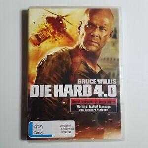 Die Hard 4.0 | DVD Movie | 2007 | Bruce Willis, Justin Long | Action/Thriller