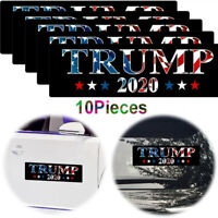New! 10Pcs Donald Trump 2020 Bumper Sticker 2020 Keep America Great President US