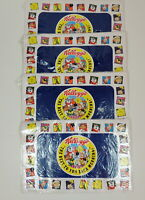 Vintage Kelloggs 1996 Vinyl Placements Set Of 4 Breakfast Cereal Unused