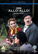 ALLO 'ALLO COMPLETE SERIES 6 AND 7 DVD Sixth Seventh SEASON Six Seven 6th 7th UK