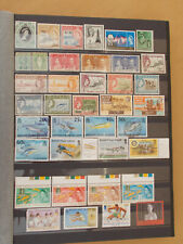 BRITISH VIRGIN ISLANDS good coll. 61 stamps all diff. - 2 scans # Lot 4547