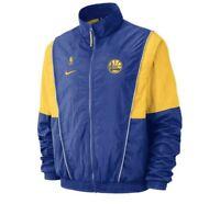 Nike Golden State Warriors Windbreaker Track Jacket Size Large AV6706-495 Retro