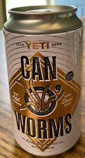 Yeti Can of Worms and Sticker Novelty Storage Can Camping