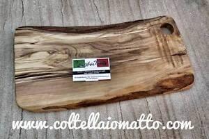 Tagliere in legno d'olivo massello cm   40 x 20