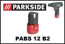 Bateria para Taladro Atornillador Parkside 12v Li Battery for Drill PABS 12 B2