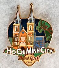 HARD ROCK CAFE HO CHI MINH CITY GREETINGS FROM GUITAR PICK SERIS PIN # 101634