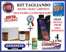 KIT TAGLIANDO FILTRI + OLIO IP SINTIAX 5W40 + ADDITIVO FIAT PANDA 1.3 MULTIJET