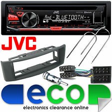 Renault Scenic 96-03 JVC Bluetooth CD MP3 USB Car Stereo & GREY Fascia Panel Kit