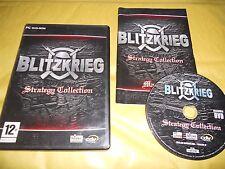 PC GAME-BLITZKRIEG-STRATEGY COLLECTION-Computer-Gioco-Games-ITALIANO-ITA