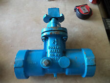 "Matco 2-1/2"" Gate Valve Push On PVC"