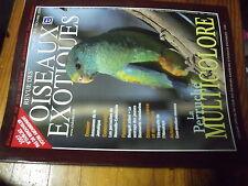 ?µ Revue des Oiseaux Exotiques n°312 Perruche Multicolore Amazone Jamaïque