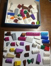 lot 100 g grammes vrac pièces incliné pente classic friends LEGO   (b32)