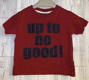 Boys Age 6-9 Months - Next Short Sleeved Top