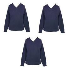 Boys' 100% Cotton School Jumpers & Cardigans (2-16 Years)