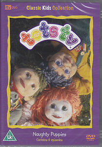 Tots TV - Naughty Puppies + 5 other episodes New & Sealed UK R2 DVD