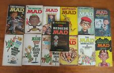 MAD Magazine comic lot 13 different books Paperback (years vary)