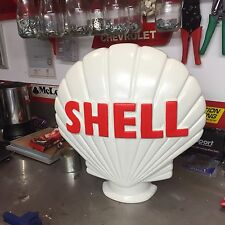 Shell Petrol Pump Globe Lookalike