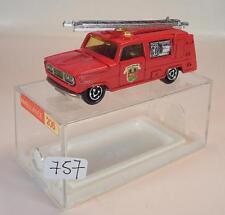 Majorette 1/80 Nº 204 pompier fire brigade camion pompiers neuf dans sa boîte de 206 #757