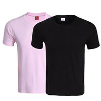 2019 Holiday Summer Classic Fit Four Pack Cotton Crew Neck Tee Shirt Multi New