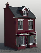 Jubilee Single Shop  Dolls House 1:12 Scale  - Unpainted Collectable House Kit