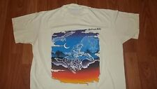 Vintage 80's Jackson Hole Wyoming Cowboy Ghost Horse T-Shirt Large mens womens
