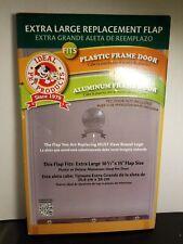 Ideal Pet Replacement Flap Plastic/Deluxe Pet Door Extra Large 10.5 x 15 inch