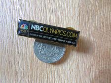 SYDNEY  Olympics 2000  NBC Olympics .com METAL Badge