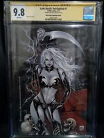 Lady Death (Retribution #1) Mike Krome Commission Edition Ltd 69 CGC SS 9.8