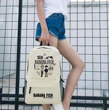 Anime BANANA FISH Okumura Eiji Backpack School Shouler bag Handbag Cosplay