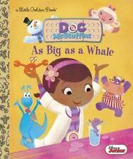 As Big As A Whale (disney Junior: Doc Mcstuffins) (little Golden Book): By An.