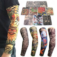 10pcs Tattoo Cooling Arm Sleeves Cover Basketball Golf Sport UV Sun Protection