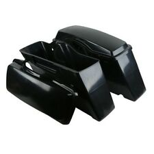 Unpainted Hard Saddle bags Saddlebags For Harley Touring Street Road Glide 93-13