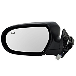 Fits 05-09 Legacy / Outback Left Driver Mirror Power Unpainted W/Heat No Signal