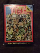 TIME the Board Game - Over 8000 Challenging Trivia Questions - 1983 - Complete