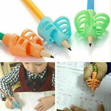 3PCS NEW Children Pencil Holder Pen Writing Aid Grip Posture Correction Tools