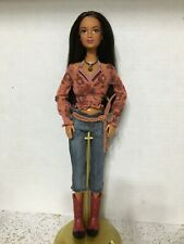 Barbie Cali Girl Beach Feet Articulated Horseback Riding Lea Kayla Cowgirl Doll