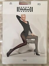 Womens Wolford Tippi Tights Holly Berry Size X Small Style 14417