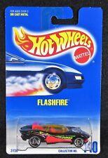 1992  Hot Wheels  Flashfire SB Saw Blade Wheels  Card #140    HW-13-121217